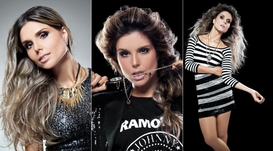 """20.dez.2012 - A ex-BBB Flávia Viana é a estrela da edição de janeiro da revista """"Estilo Fashion"""""""