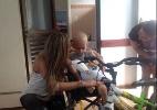 Ex-BBB Monique Amin visita hospital infantil - Reprodução/Twitter