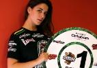 Fotos: Ex-BBB Laisa posa como ring girl do Jungle Fight desta sexta-feira - Jefferson Bernardes/Preview/Divulgação
