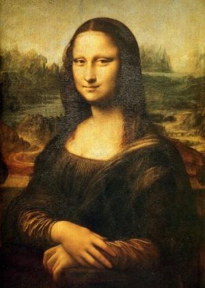 Monalisa, de Leonardo Da Vinci - Creative Commons
