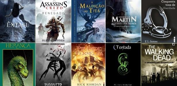 Principais séries literárias de 2012 - Divulgação