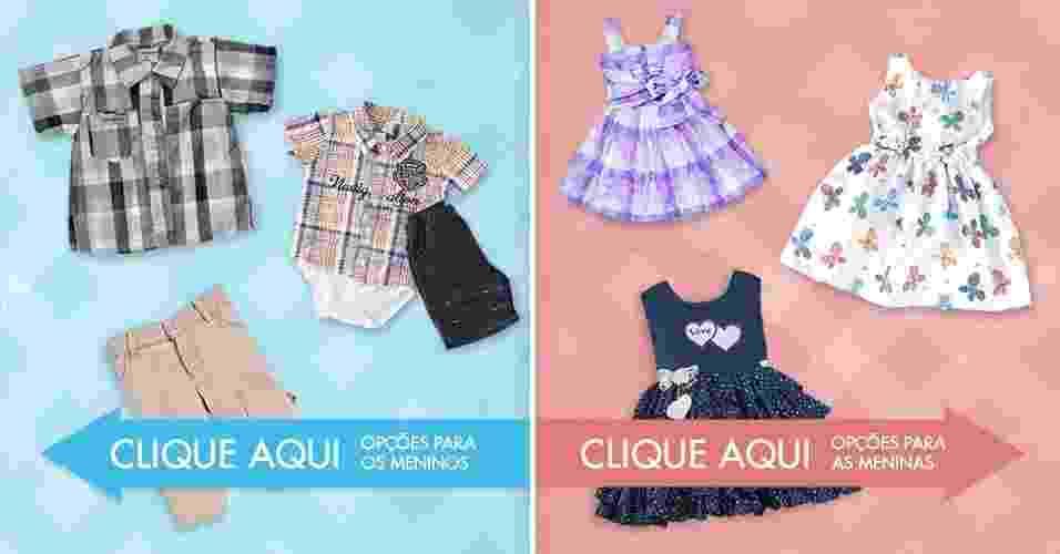 roupas, bebês - Arte/UOL
