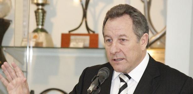 Wilfredo Brillinger, presidente do Figueirense