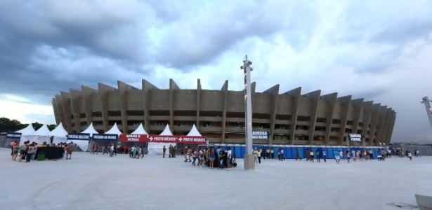 Projeto de novo estádio do Atlético-MG e ação contra o Cruzeiro complicam Mineirão