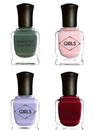 """Linha """"Girls"""", da marca Deborah Lippmann: cores inspiradas em personagens da série homônima - Divulgação"""