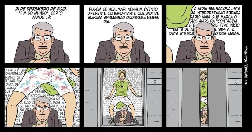 ''Feliz 21 de dezembro de 2012'' - 21/12/2012 humor