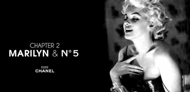 O clássico perfume Chanel N°5, eternizado por Marilyn Monroe, é um dos itens disponíveis na loja on-line - Divulgação