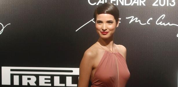 Modelo tunisiana Hanaa ben Abdesslem posou para o Calendário Pirelli e fará campanhas da Lancôme - Ricardo Moraes/ Reuters