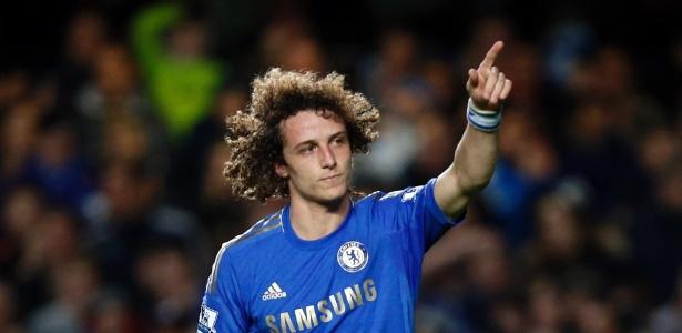 David Luiz relembrou com felicidade sua passagem pelo Chelsea - AP Photo/Matt Dunham