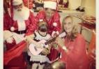 Rafaella Justus ganha violão rosa de Natal da avó Helô Pinheiro (Foto: Reprodução/Instagram)