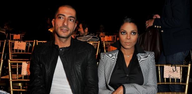 3.out.2010 - Janet Jackson e o marido, o bilionário Wissam Al Mana - Getty Images