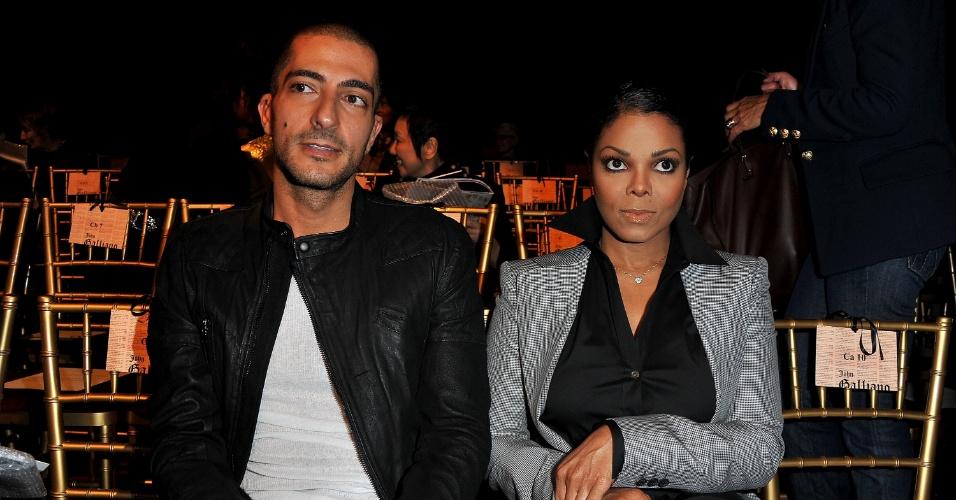 3.out.2010 - Janet Jackson e o noivo, o bilionário Wissam Al Mana