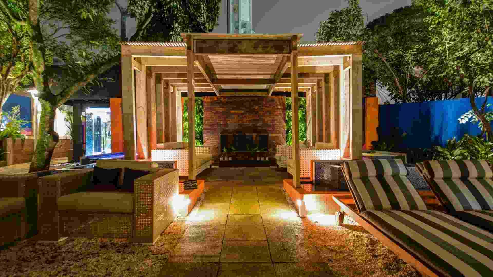 Casa Cor SP 2012: Jardim das Casas, projetado pelo arquiteto Ronaldo Kurita - Kátia Kuwabara/ UOL