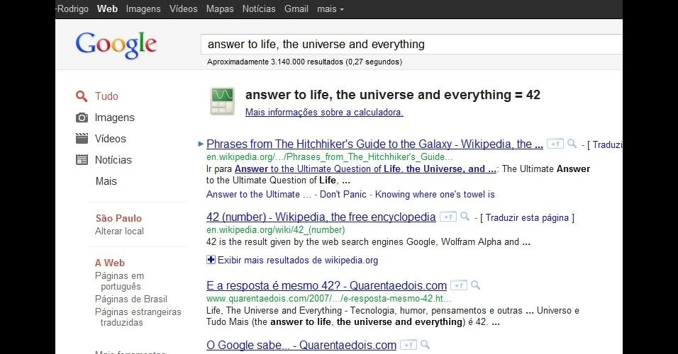 EasterEgg Google