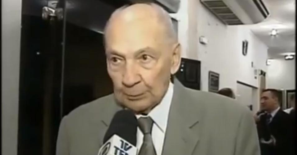 Luiz Noriega, ex-narrador que morreu no dia 26/12/2012