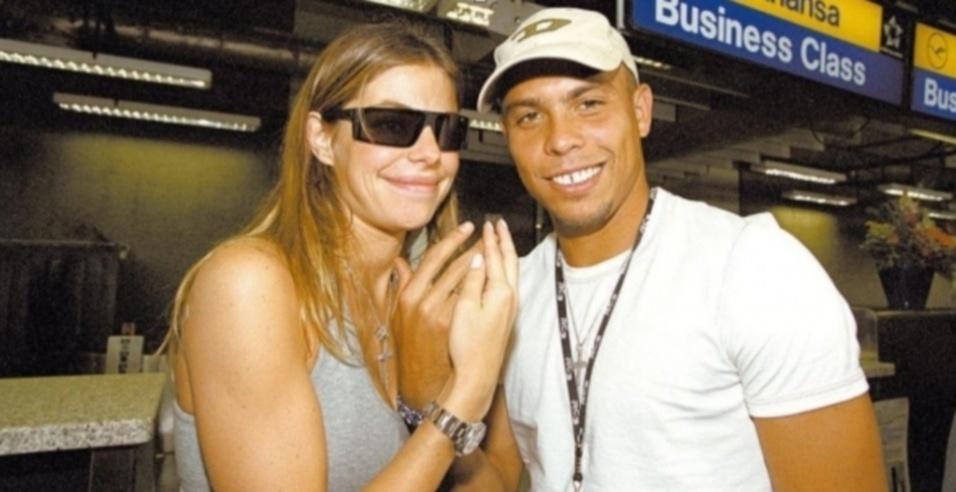 Daniela Cicarelli, esposa de Ronaldo em 2005