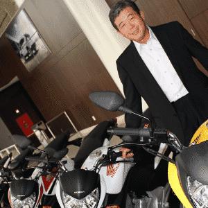 Issao Mizoguchi assume como primeiro presidente brasileiro, apesar do nome, da Honda Motos - Arthur Caldeira/Infomoto