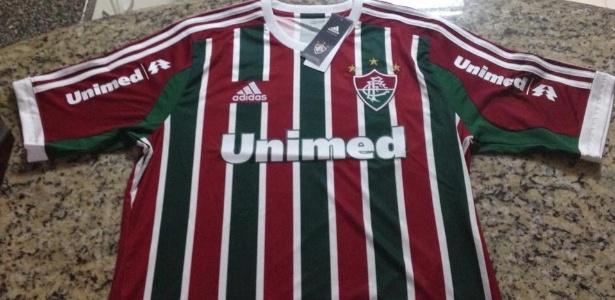 Imagens da suposta nova camisa do Fluminense para 2013 vazaram na internet