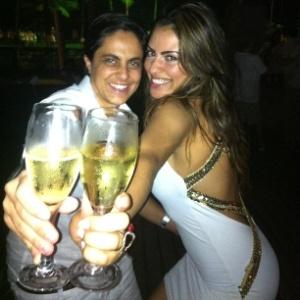 Thammy Miranda e a ex-namorada Linda