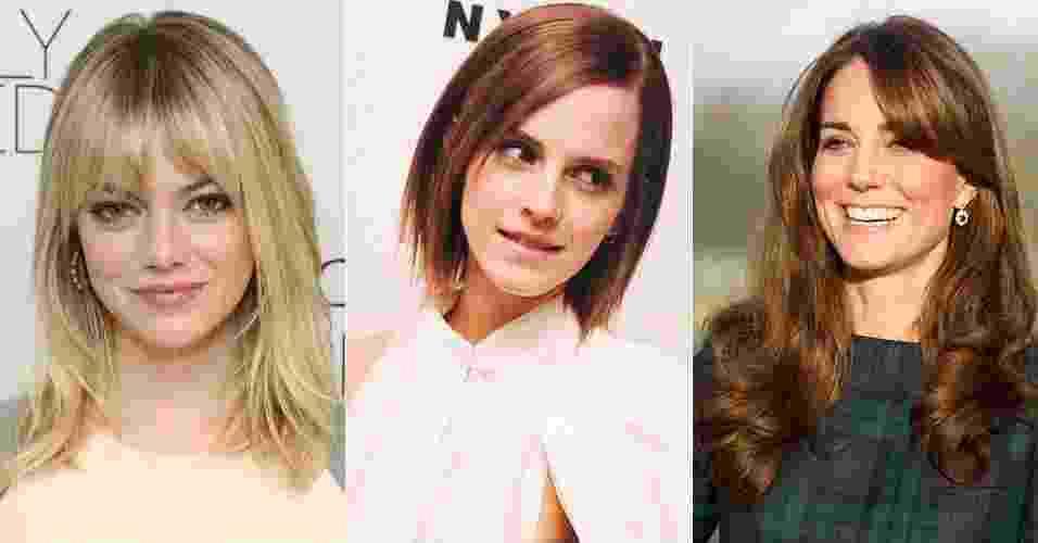 Mechas finas desde a raiz, comprimento curto arredondado e franjas são algumas das tendências de cabelo para 2013 - Getty Images
