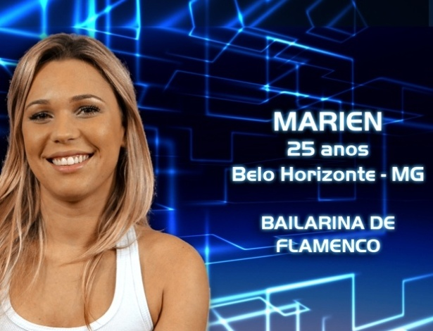 """Foto de divulgação da bailarina Marien, participante do """"BBB13"""""""