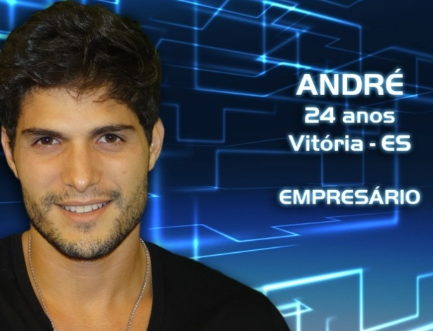 """Foto de divulgação do empresário André Martinelli, de 24 anos, participante do """"BBB13"""""""