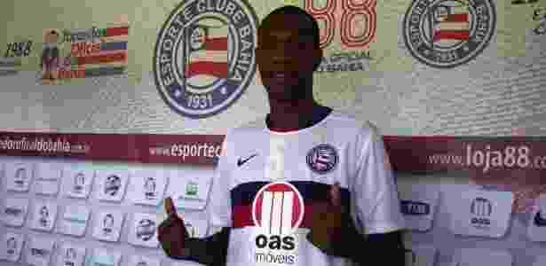 Emprestado ao Bahia pelo Botafogo, Brinner é apresentado no Fazendão - Divulgação/Bahia