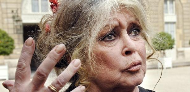 A atriz Brigitte Bardot quer evitar a morte de dois elefantes doentes  - Eric Feferberg/AFP