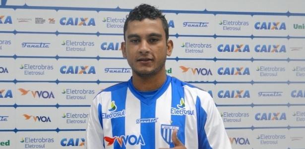 Nadson, 27, passou por Paraná, Avaí, Ponte Preta e Palmeiras