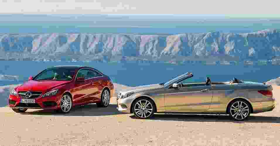 Mercedes-Benz Classe E cupê e conversível - Divulgação