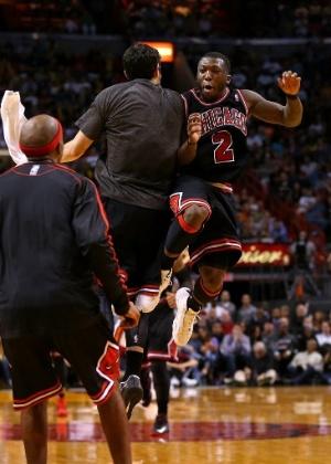 5325f1be8f6a8 O confronto entre Chicago Bulls e Miami Heat tem sido um dos grandes duelos  da NBA desde 2010