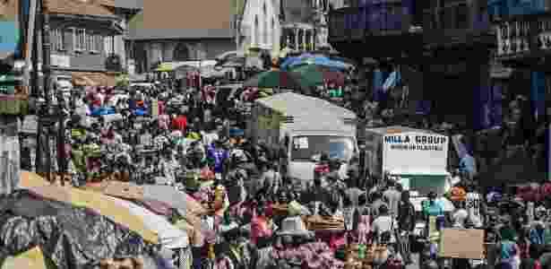 Serra Leoa é um dos países mais pobres do mundo, com 70% da população abaixo do nível de pobreza. - Tommy Trenchard/Reuters - 5.jan.2013