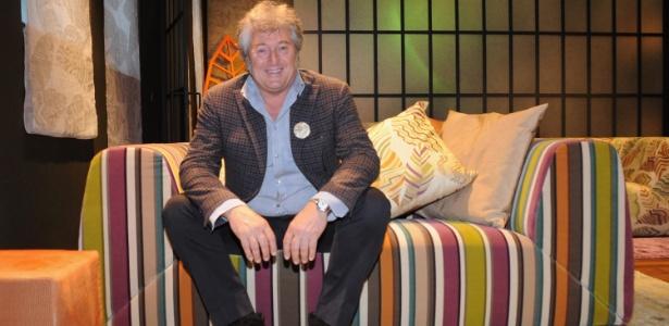 Vittorio Missoni, filho dos fundadores da grife familiar italiana famosa por suas roupas de tricô coloridas - Getty Images