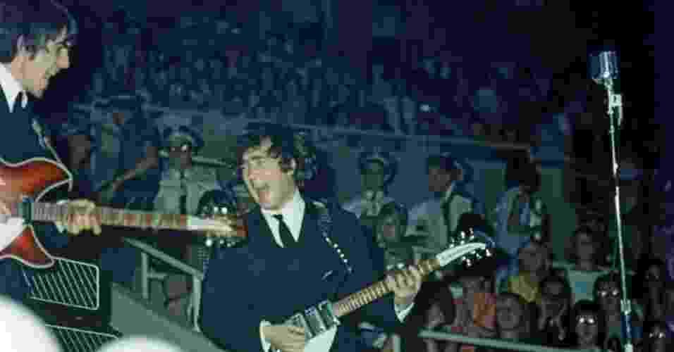Uma coleção de fotos inéditas dos Beatles, feitas durante a primeira turnê do grupo nos Estados Unidos em 1964, vai a leilão na Grã-Bretanha em março - Dr Robert Beck/Omega Auctions/PA Wire