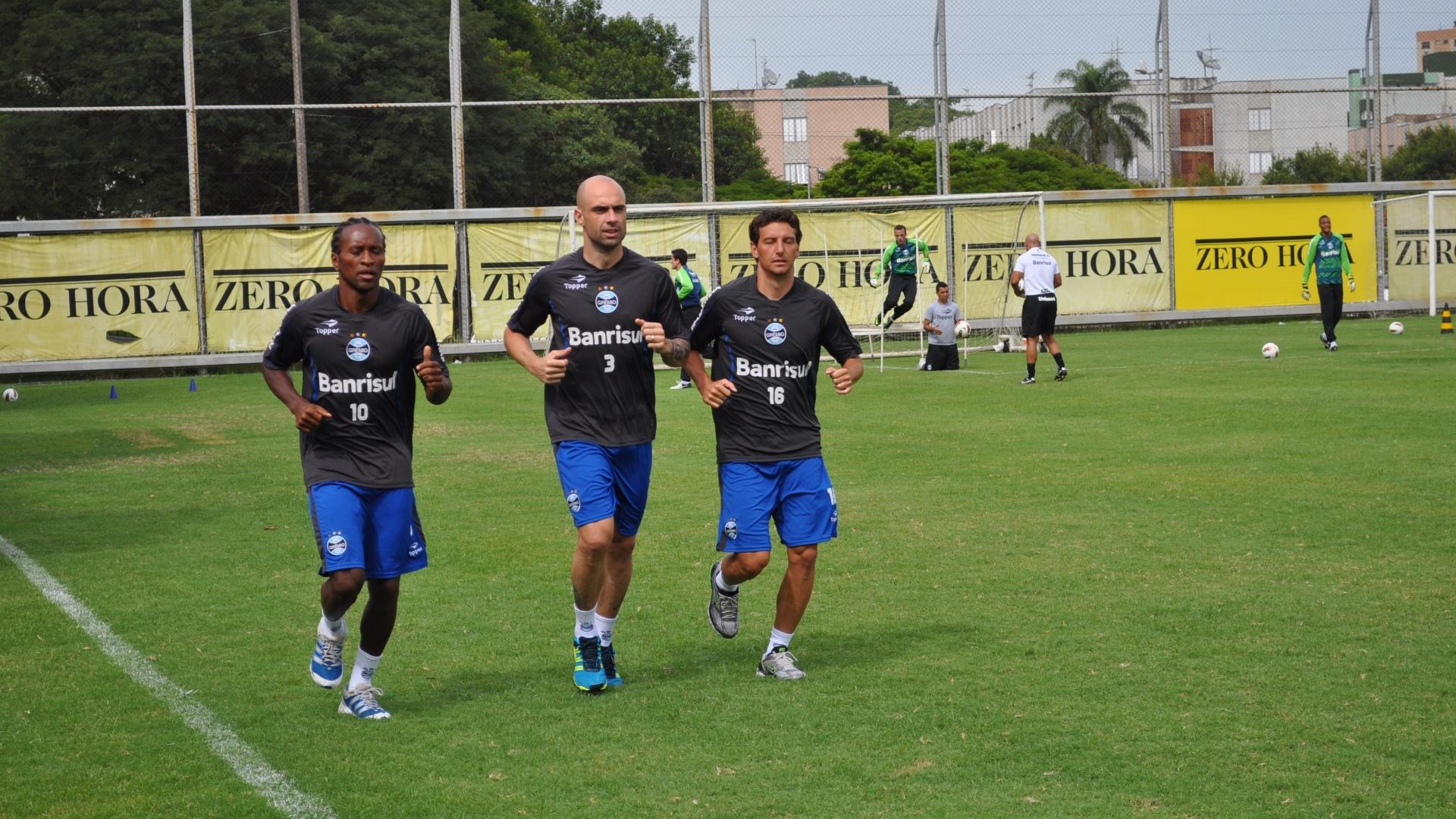 'Vovôs' do Grêmio são preservados de treinamentos na caixa de areia