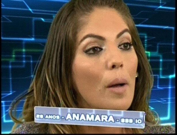 Anamara do BBB10 volta para a casa do Big Brother Brasil