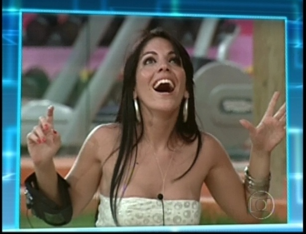 Anamara do BBB10 volta para a casa do Big Brother Brasil