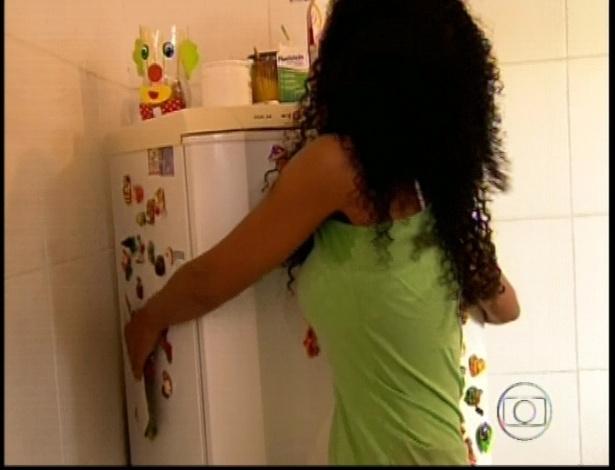 """""""O homem da casa sou eu"""", disse Aline, do Rio de Janeiro"""