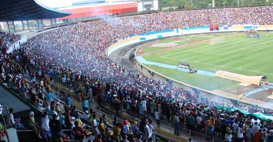 Final de 2009 do Peladão levou ao estádio Vivaldão mais de 43 mil pessoas