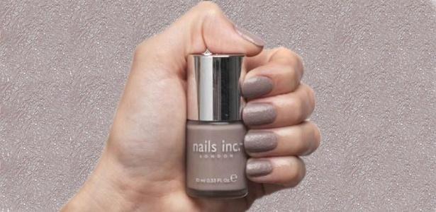 """A inglesa Nails Inc. escolheu o tema urbano em sua nova linha de esmaltes, a """"Concrete Effect"""" - Montagem/UOL"""