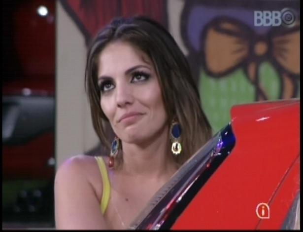 "Anamara segue na disputa na primeira prova do ""BBB13"""