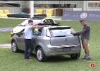 Depois de 15 horas, Nasser é vencedor da prova de resistência - Reprodução/TV Globo