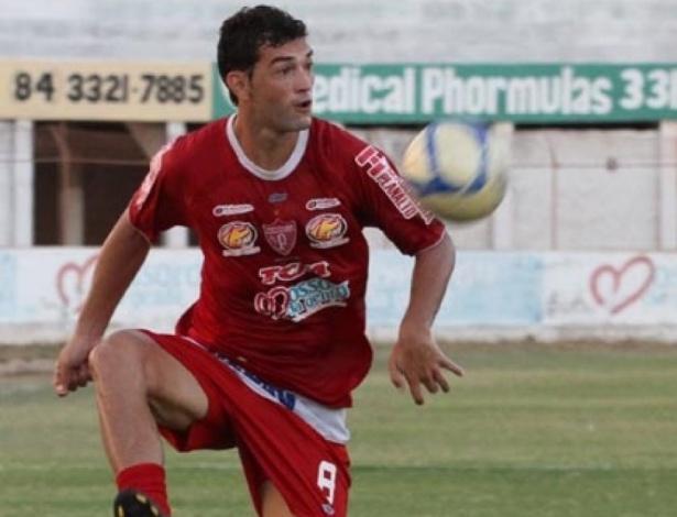 Neto Maranhão, jogador do Potiguar de Mossoró, que morreu nesta quarta-feira