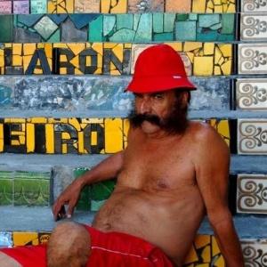 O artista plástico chileno Jorge Selarón - Reprodução/Internet