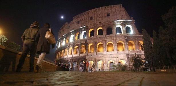 Imagem do Coliseu, em Roma - EFE/EPA/ALESSANDRO DI MEO Colosseo