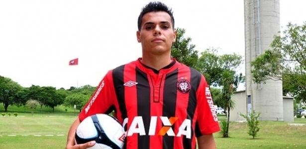 Lucas Dantas, novo reforço do Atlético-PR