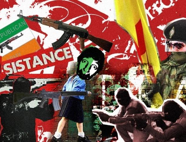 O IRA (sigla em inglês de Exército Republicano Irlandês) foi um grupo terrorista muito ativo nos anos 1960. Sua meta era tirar a região do Ulster, no norte da ilha da Irlanda, do domínio inglês. Por trás do conflito nacional, também havia um componente religioso na atuação desse grupo, uma evidência de que o fanatismo não é característica exclusiva dos terroristas muçulmanos. O IRA é outro grupo que afirma ter deixado de lado a luta armada, mas...