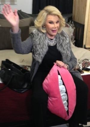 A apresentadora Joan Rivers