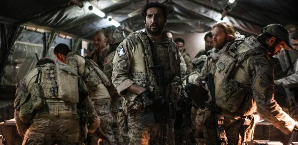 """Cena do filme """"A Hora Mais Escura"""", que mostra as ações da inteligência americana que levaram à captura de Osama Bin Laden - Divulgação / Imagem Filmes"""