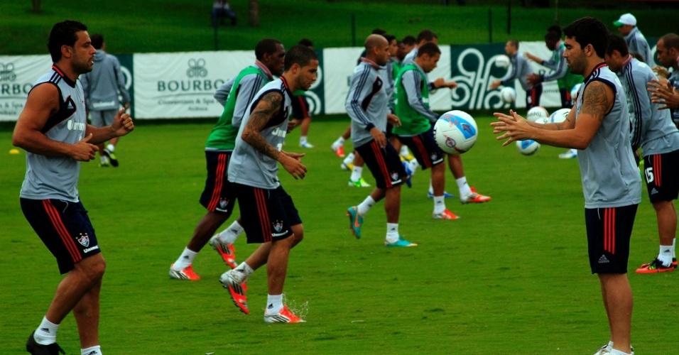 Fluminense treina em Atibaia durante pré-temporada